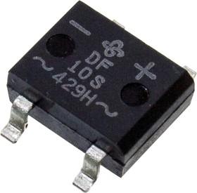 DF10S-E3/77, 1000V 50 A Miniature Glass Passivated Single-Phase Bridge