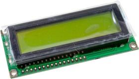 DV-16252S1FBLY-H/R, ЖКИ 16х2 англ./рус.
