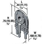 Фото 2/2 28-450, 10 кОм, 0,5 Вт, Резистор подстроечный