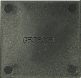 G5050xxL крышка для корпуса 50х50мм пласт.