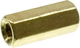 PCHSS-12 mm М3,латунь,шестигр.стойка для п/плат
