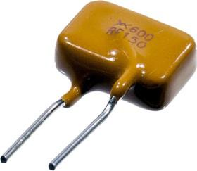 600R150F, предохранитель самовосстан. 600В 150мА радиальн