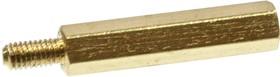 PCHSN-22 mm М3,латунь,шестигр.стойка для п/плат