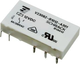 V23092-B1012-A301 7-1393236-1, реле 1 Form C 12В 6А/250В
