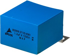 B32656S7125K561, конд1250Vdc 10% 1.2uF