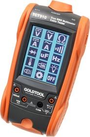 TCT-910 цифровой мультиметр + LAN тестер