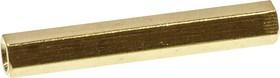 PCHSS-32, стойка латунная для печатной платы М3 шестигранная