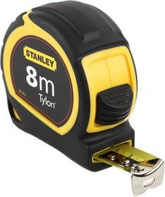Рулетка STANLEY Tylon 0-30-657 измерительная, 8м х 25мм