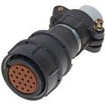 Фото 4/4 2РМТ24КПН19Г1В1В, Розетка на кабель с прямым патрубком для неэкранированного кабеля