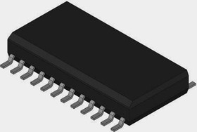 Фото 1/2 AD7492ARZ, 1-Channel Single ADC SAR 1Msps 12-bit Parallel 24-Pin SOIC W Tube