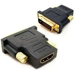 ADAPTER DVI-HDMI, Переходник DVI, DVI (m) - HDMI19 (f)