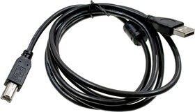 Каб.USB 2.0 Pro CCF-USB2-AMBM-6AM/BM, 1.8м, экран, феррит.кольцо,черн