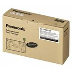 Двойная упаковка картриджей PANASONIC KX-FAT431A7D черный