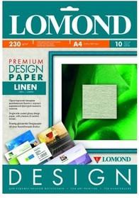 Фотобумага Lomond 933041 A4/230г/м2/10л./белый матовое лён для струйной печати [0933041]
