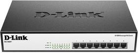 Коммутатор D-LINK DES-1008P+/A1A