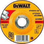 Круг зачистной DEWALT DT42220Z-QZ Ф115х6.3мм INDUSTRIAL тип ...