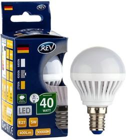 Лампа светодиодная REV RITTER 32263 4 E27 5Вт