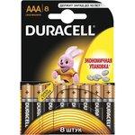 Фото 2/2 Элемент питания алкалиновый LR LR03-8BL BASIC (блист.8шт) Duracell C0033441