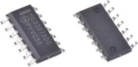 Фото 1/5 MC33079DR2G, Малошумящий операционный усилитель, 4-канальный, 16МГц [SOIC-14]