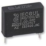 ECQU2A334ML, Конденсатор Безопасности, 0.33 мкФ, X2 ...