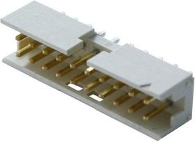 10075025-G01-20ULF, Разъем типа плата-плата, вертикальный, 2 мм, 20 контакт(-ов), Штыревой Разъем