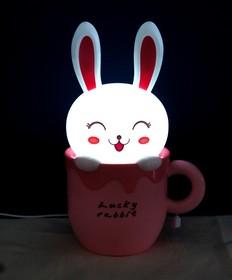 EX-1101А, Настольная лампа-ночник «Счастливый кролик»