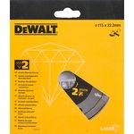 Диск алм. DeWALT DT3770-XJ сегментный по абразивным ...