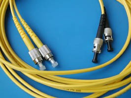 FPK-FC-ST-sm-dp-5, FC-ST патч-корд оптический одномодовый 5м (Duplex)