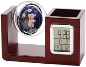 VWG-5534, Настольный прибор с часами и глобусом