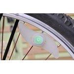 YY-601, Силиконовая LED-подсветка на спицы велосипеда