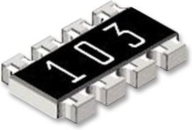 CRA12E08310K0FTR, Фиксированный резистор цепи, 10 кОм, Серия CRA12, 4 элемент(-ов), Изолированный
