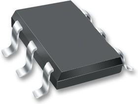 Фото 1/2 FDG6303N, Двойной МОП-транзистор, Двойной N Канал, 500 мА, 25 В, 0.45 Ом, 4.5 В, 800 мВ
