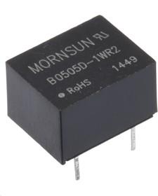 B0505D-1WR2, DC/DC преобразователь, 1Вт, вход 4.5-5.5В, выход 5В/200мА
