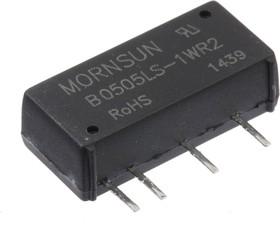 B0505LS-1WR2, DC/DC преобразователь, 1Вт, вход 4.5-5.5В, выход 5В/200мA