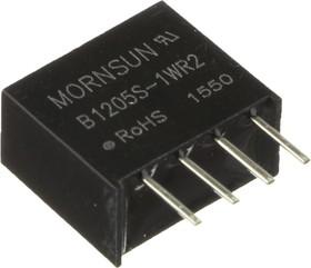 B1205S-1WR2, DC/DC преобразователь, 1Вт, вход 10.8-13.2В, выход 5В/200мА