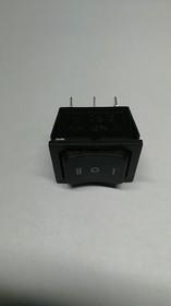 RS-223-4С6 (черный), Переключатель (ON)-OFF-(ON) (35A 12VDC; 15A 250VAC; 20A 125VAC) DPDT 6P