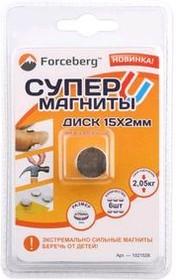 Неодимовый магнит - диск 15×2 мм (6 шт) | купить в розницу и оптом