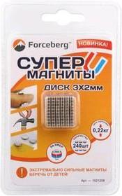 Неодимовый магнит - диск 3×2 мм (240 шт) | купить в розницу и оптом