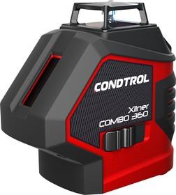 Лазерный нивелир CONDTROL Xliner Combo 360 40м точность ± 0.2мм/м резьба 5/8''+1/4''