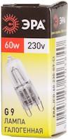 Лампа галогенная ЭРА G9-JCD-60-230V-Cl (100/1000/30000)