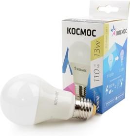 КОСМОС 13W LED A60 E2730 13Вт E27 3000K BL1, Лампа светодиодная