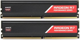Модуль памяти AMD Radeon R7 Performance Series R738G2400U1K DDR4 - 2x 4Гб 2400, DIMM, Ret