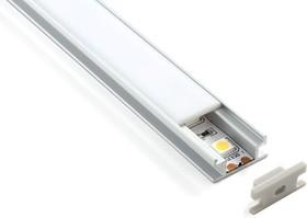 LL-2-ALP002, Встраиваемый напольный алюминиевый профиль для LED ленты (8mm)