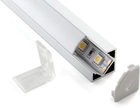 LL-2-ALP004, Угловой алюминиевый профиль для LED ленты (18,5mm)