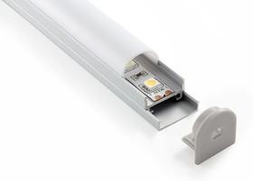 LL-2-ALP005, Потолочный алюминиевый профиль для LED ленты (20mm),oval