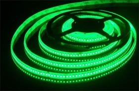 192Led-15W-IP65-24V зеленый, Лента светодиодная 1 метр, 192SMD(3528)/m, 15Вт/м, 24В