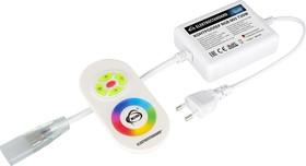 LSC 005 220V 4A 720W IP20, Контроллер для ленты 220V RGB с ПДУ