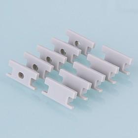 ZLL-2-ALP002, Заглушки для встраиваемого напольного алюм.профиля для LED ленты (8mm) (компл.10 пар)