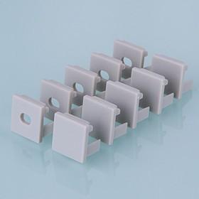 ZLL-2-ALP003, Заглушки для квадратного углового алюм.профиля для LED ленты (16mm) (компл. 10 пар)