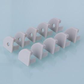 ZLL-2-ALP004, Заглушки для углового алюм.профиля для LED ленты (18,5mm) (компл. 10 пар)